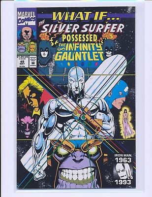 What If? # 49 - Silver Surfer Infinity Gauntlet Fine/VF Cond.
