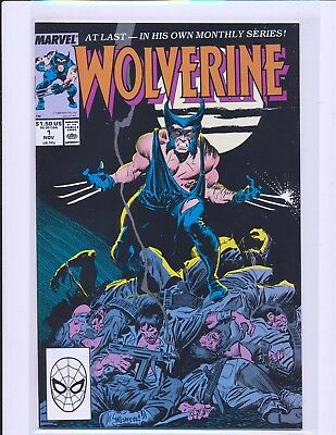 Wolverine Regular Series # 1 NM- Cond.