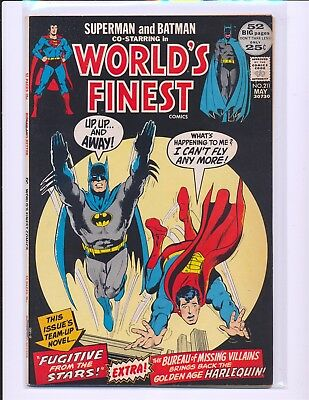 World's Finest Comics # 211 - Neal Adams cover VF Cond.