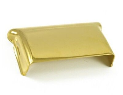 Genuine Fender Vintage Stratocaster Bridge Cover Gold 0010223000