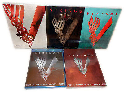 Vikings komplette Staffel/Season 1,2,3,4 [Blu-Ray](inkl 4.1+4.2) Deutsch(er) Ton
