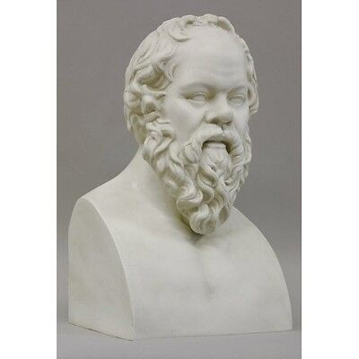 Socrates Ancient Greek Philosopher bust Museum Sculpture Replica Reproduction