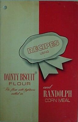 DAINTY BISCUIT FLOUR & RANDOLPH CORN MEAL BOOKLET - PRE-1950s (RANDOLPH MILLS NC