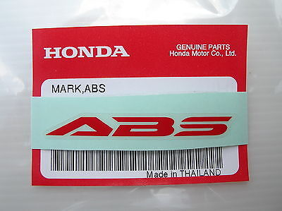 ORIGINAL Honda ABS  Aufkleber-Sticker-Logo-Emblem-Decal-Repsol/HRC Racing Bike