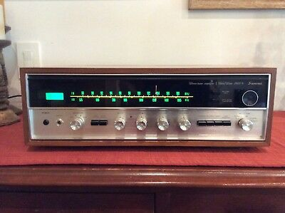 Sansui 2000X Solid State Am/fm Stereo Receiver Tuner Amplifier Excellent!!!!!
