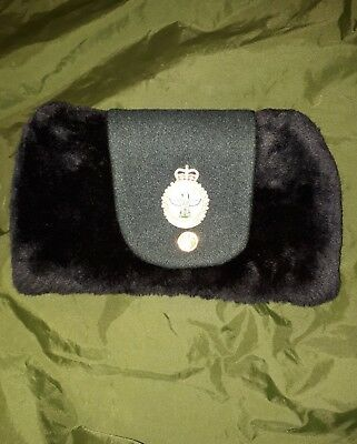Canadian Forces Army Military Police Winter Fur  Hat Parktown Parade Fellhaube