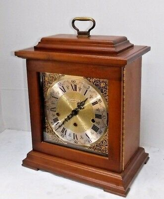 Harris Mallow Landmark U.s.a Triple Chime 8Day Bracket Clock Working Lakewood Nj