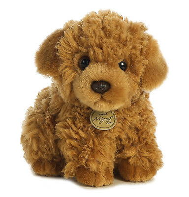 Aurora World Plush - Miyoni Tots - POODLE PUP (Medium - 9 inch) -New Stuffed Toy