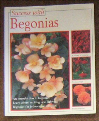 SUCCESS WITH BEGONIAS paperback book
