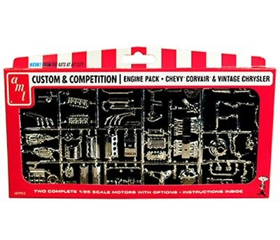 CHRYSLER AND CHEVY CORVAIR MOTORS PARTS PACK 1/25 scale AMT kit#PP010