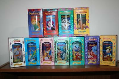 Lot 11 Burger King 1994 Collector Glasses Cups Disney Pocahontas Snow White  MIB