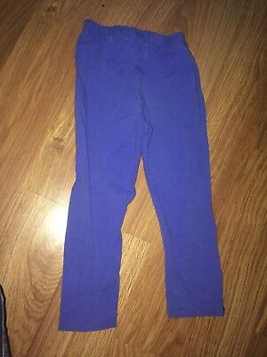 Mothercare Baby Girl 12-18 Months Blue Leggings (Ex Cond)