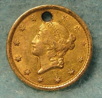 1851 Liberty Head $1 GOLD Coin XF Details * US Coin *