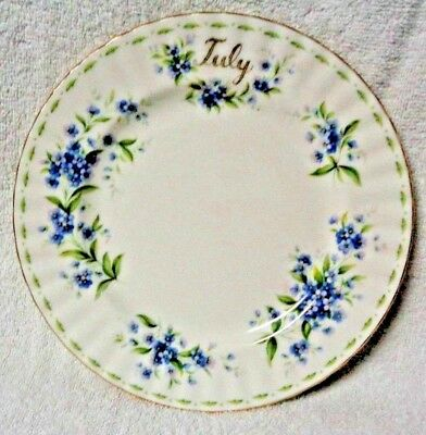 Royal Albert Flower of the Month July 1970  Plate