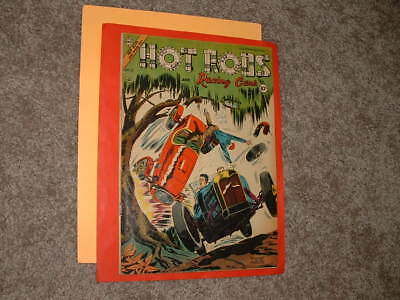 1954 Charlton Hot Rods and Racing Cars 17 Giordano & Alascia VG Fast Shipping