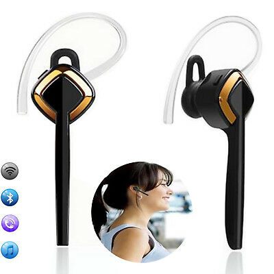 Wireless Bluetooth Headset Stereo Music Earphone For Business Car Driver Workout