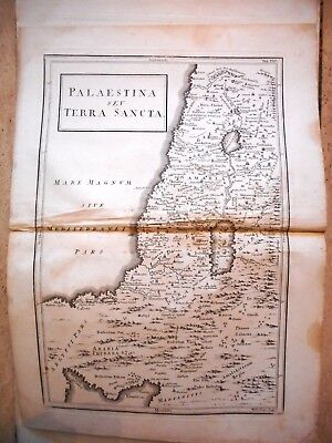 Antique Map Of Palestine And The Holy Land. 1789. Geographia Antiqua