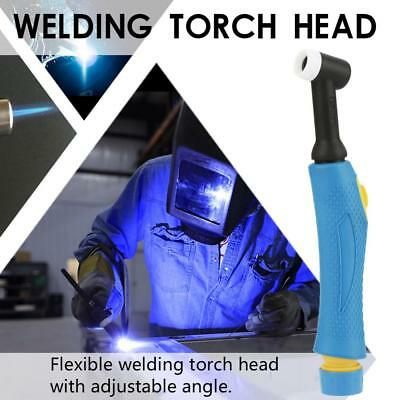 WP-18 Tig Welding Torch Flexible 350A Water-cooled Head Body w/Switch Button hon