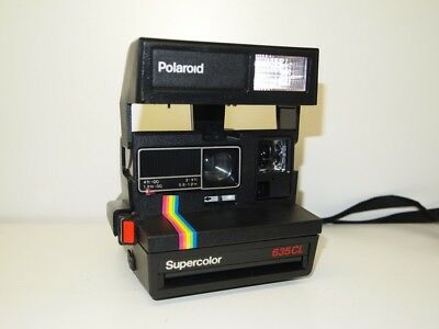 Polaroid 636 CL Sofortbildkamera Kamera (Impossible Film 600) SW oder Color