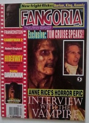 Fangoria No. 139 Dated January 1995. Very Good Condition.