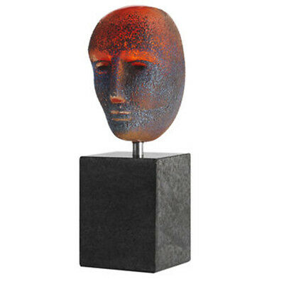 Kosta Boda Bertil Vallien - Brain on stone / TOR - limited Edition sign&num