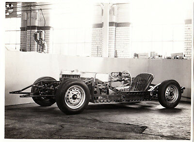 Mg  Special Bonneville Salt Flat Rolling Chassis With Out Frame Period Photo