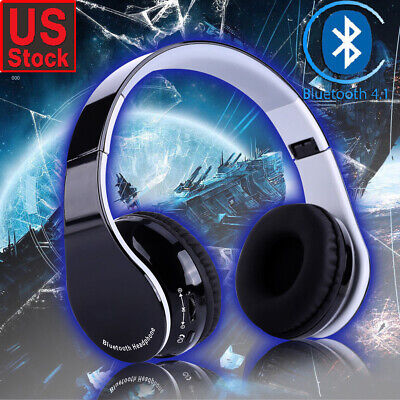 Bluetooth4.1 Wireless Gaming Headset Mic Headphones Stereo Surround for PS4 US
