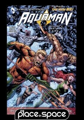 Aquaman Vol 04 Death Of A King - Hardcover