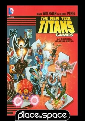 New Teen Titans Games  - Softcover