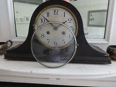Napoleon Hat Clock - Striking Mantel Clock -Working But For  Spares or Repair