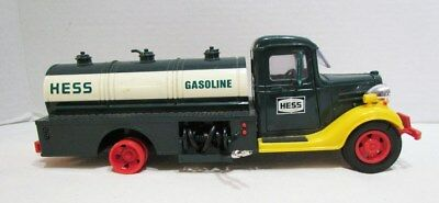 HESS GASOLINE 1980 TANKER TRUCK AS-IS FOR PARTS or REPAIR BROKEN MISSING PIECES