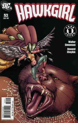 Hawkgirl #52 VF/NM; DC | save on shipping - details inside