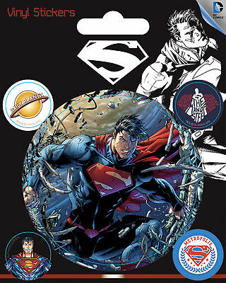 DC Comics - Superman Stickerset Set 5 Sticker Aufkleber - ca. 10x12,5 cm