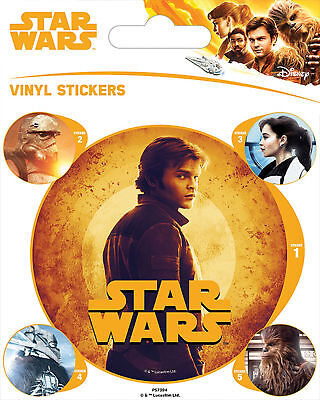 Solo: A Star Wars Story - Stickerset Set 5 Sticker Aufkleber - ca. 10x12,5 cm
