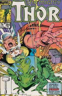 Thor #364 VF/NM; Marvel | save on shipping - details inside