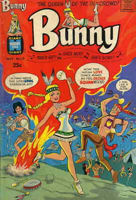 Bunny #12 VG; Harvey | low grade comic - save on shipping - details inside