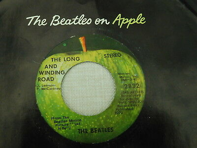 BEATLES - The Long And Winding Road (US-Apple)