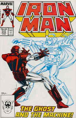 Iron Man (1st Series) #219 VG; Marvel | low grade comic - save on shipping - det