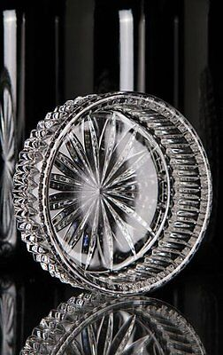 Waterford Crystal Heritage Wine Bottle Coaster, bad box*