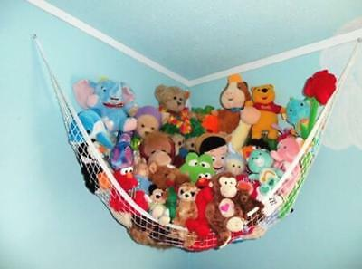 Large Toy Soft Teddy Hammock Mesh Baby Childs Bedroom Tidy Storage Nursery Net C