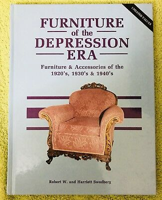 Furniture of the Depression Era Hardcover  - 1992 - Swedburg