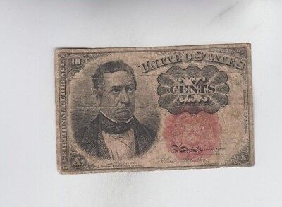 Fractional Currency Civil war era item to the 1870's  vg-fine stain