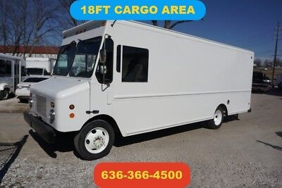 2006 Workhorse 18 ft cargo step van food truck delivery 4.8 v8 gas rear ramp