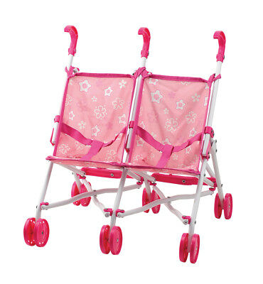 Doll's Twin Buggy