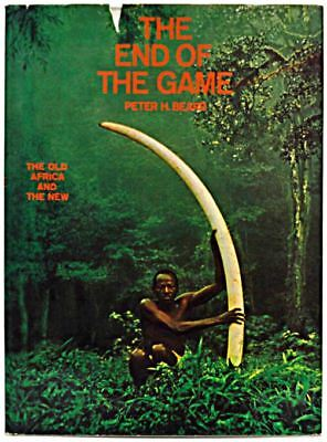 The End of the Game by Peter Beard, First Edition - 1965