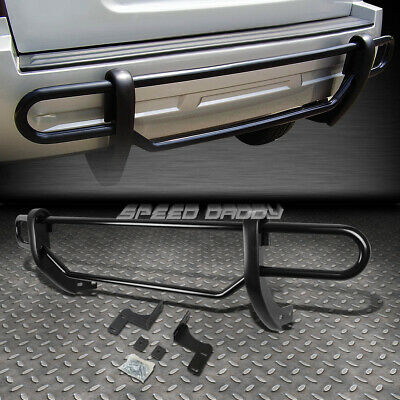 Bumper Guard For Suv >> For 09 15 Honda Pilot Suv Black Coated Double Bar Rear