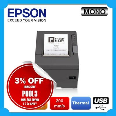 EPSON TM-88IV Built-in USB POS Thermal High Speed Receipt Printer [C31C636832]