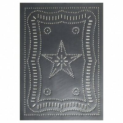 Country new FEDERAL STAR Gray tin CABINET panel