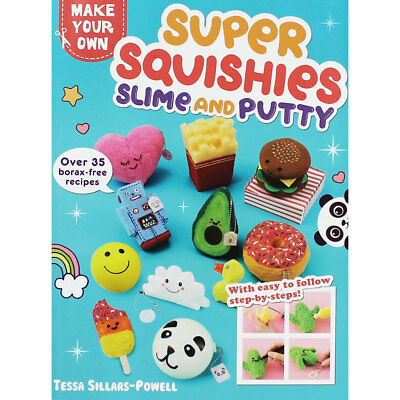 Super Squishies and Slime Putty Book (Paperback), We Love, Brand New