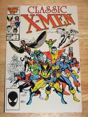 Classic X-Men 1  Marvel Comics Unread High Grade 9.2 - 9.4
